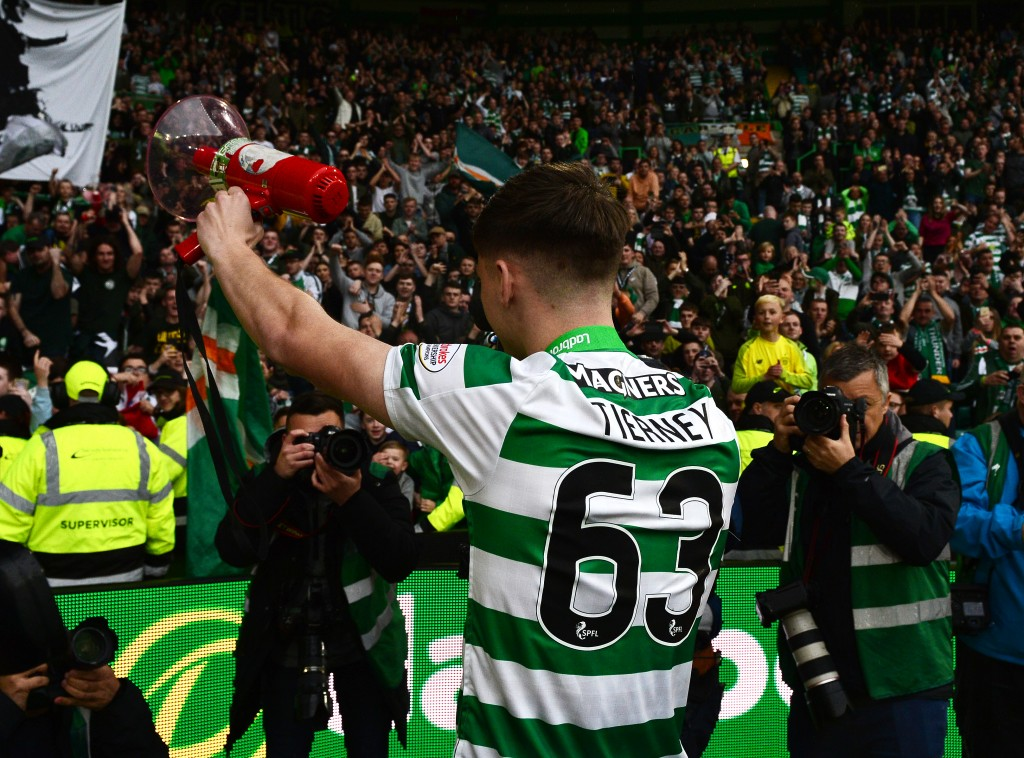 Will Tierney get his Arsenal move? (Photo by Mark Runnacles/Getty Images)