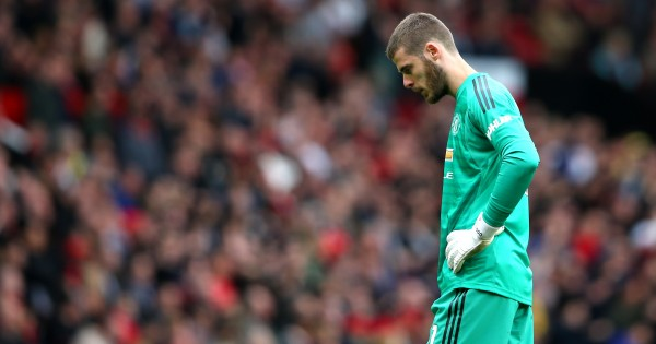 De Gea has let Manchester United down on numerous occasions of late (Photo by Alex Livesey/Getty Images)