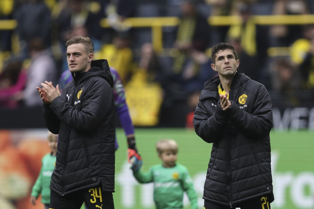 Is Bruun Larsen set to follow Christian Pulisic to the Premier League? (Picture Courtesy - AFP/Getty Images)