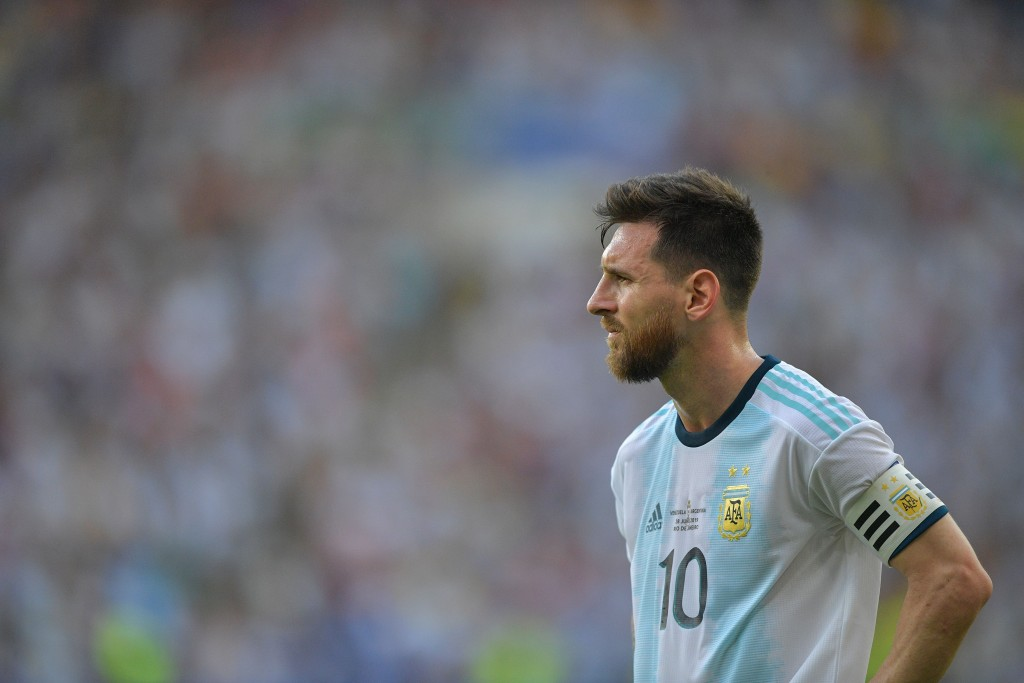 Will Messi lead from the front? (Photo by Carl de Souza/AFP/Getty Images)