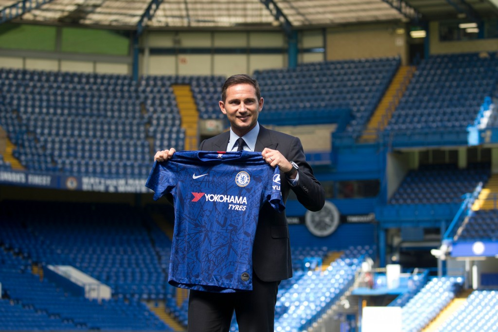 Luiz has backed Lampard for success as the Chelsea boss. (Photo by Isabel Infantes/AFP/Getty Images)
