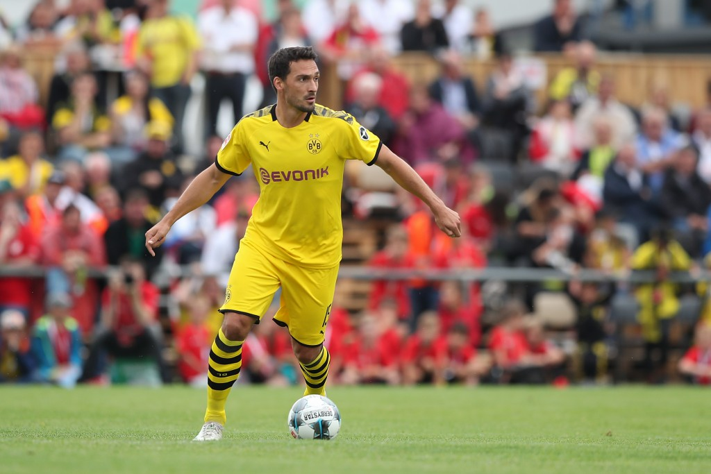 Mats Hummels has returned to Borussia Dortmund after a successful stint at Bayern Munich. (Photo by Christian Kaspar-Bartke/Bongarts/Getty Images)