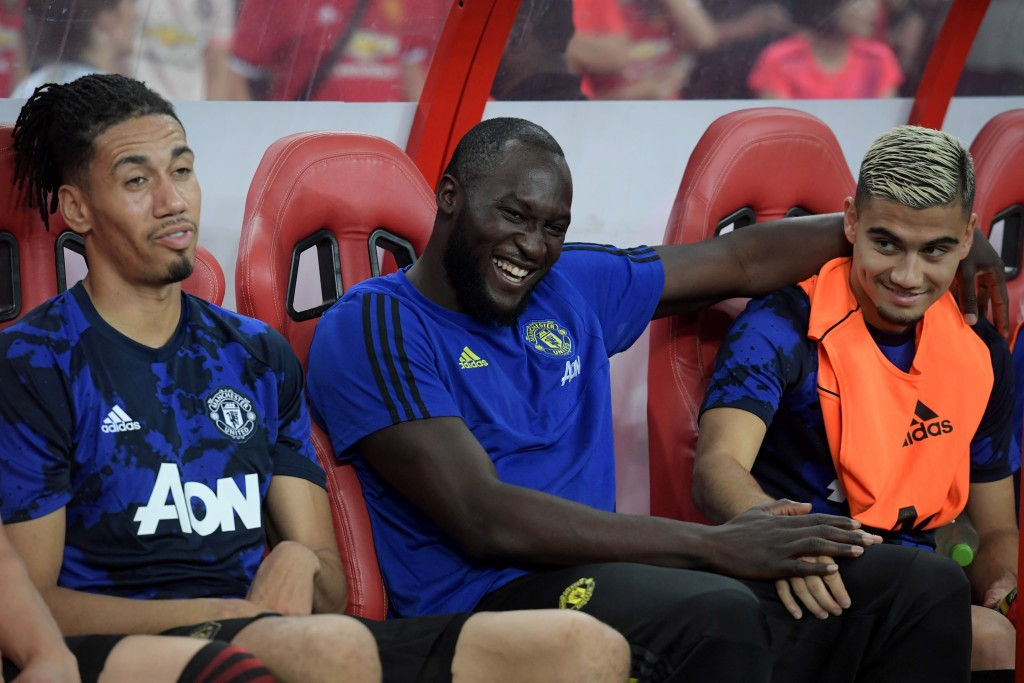 Lukaku is yet to feature for Manchester United on their pre-season campaign so far. (Photo by Roslan Rahman/AFP/Getty Images)