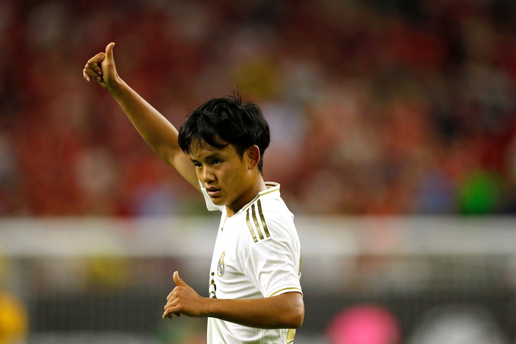 Real Madrid loan 'Japanese Messi' to Mallorca