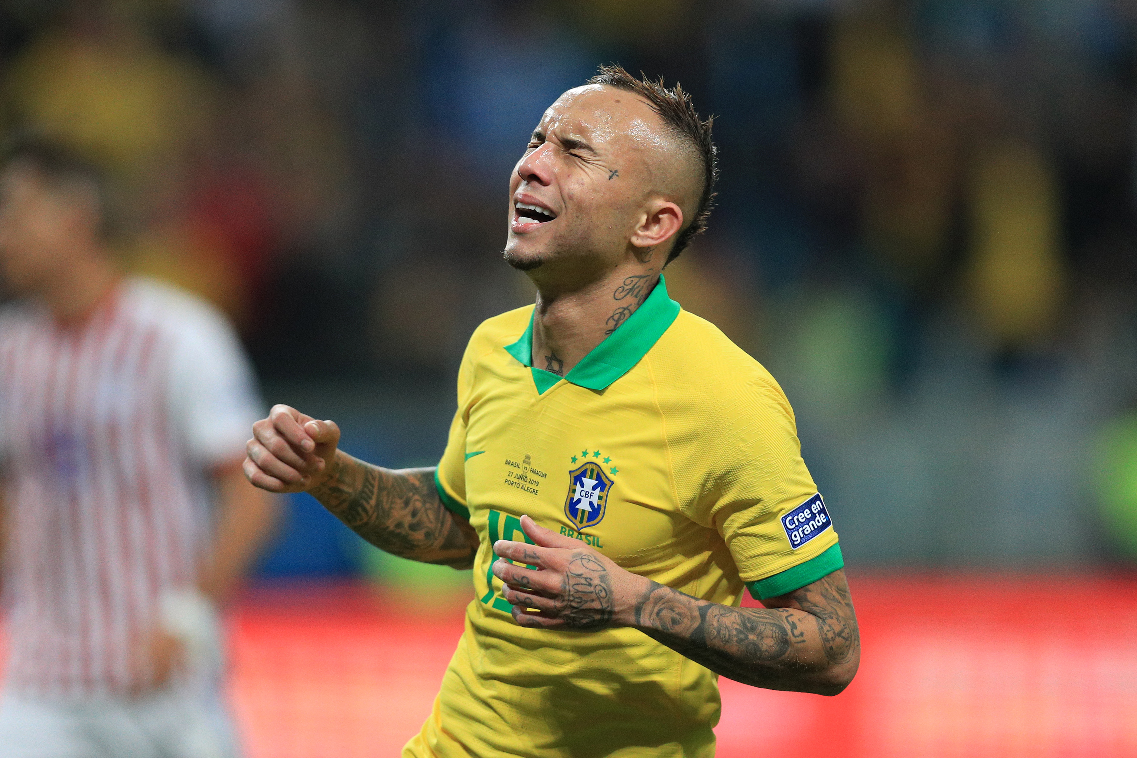 Everton Soares is linked with a move to Arsenal. (Photo courtesy: AFP/Getty)