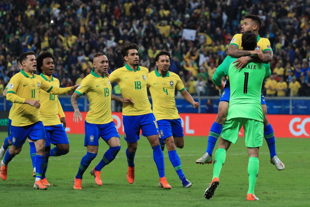 Everton played a starring role for Brazil as they lifted the Copa America 2019 trophy. (Picture Courtesy - AFP/Getty Images)