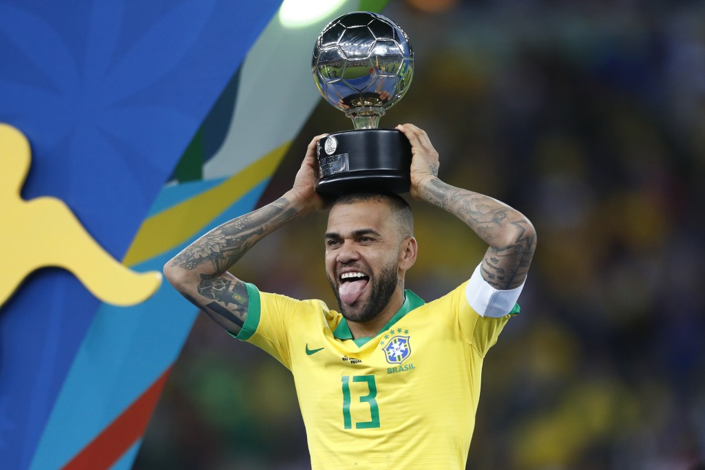 The best player of the 2019 Copa America is showing no signs of slowing down. (Photo by Lucas Uebel/Getty Images)