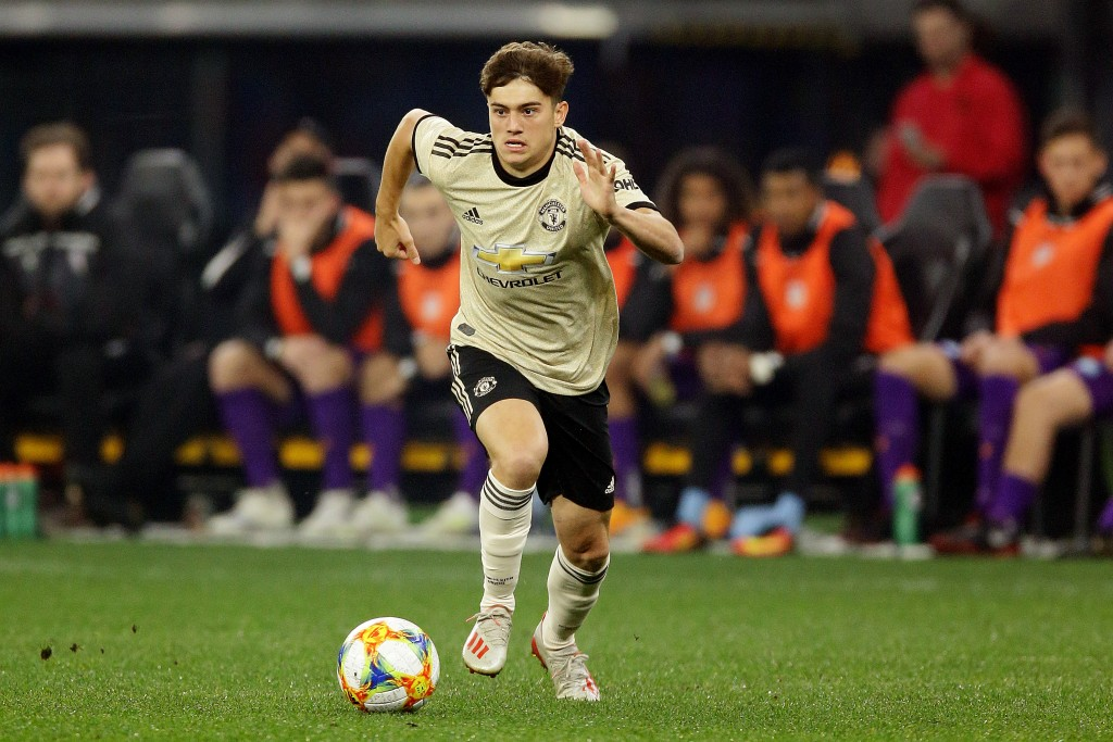 Daniel James hoping to emulate Ryan Giggs at Manchester United (Photo by Will Russell/Getty Images)