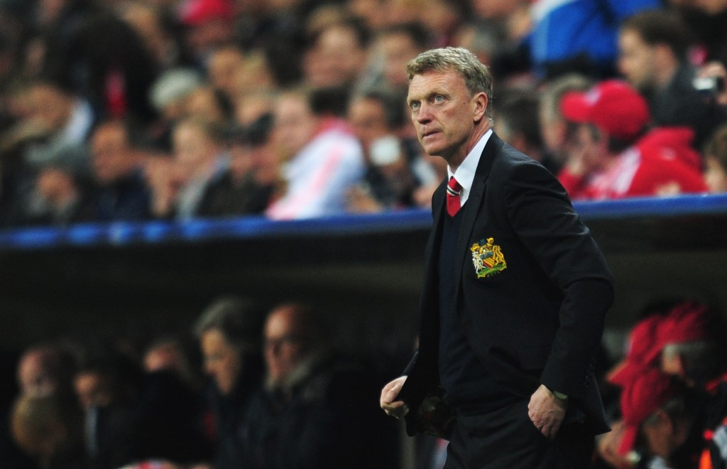 David Moyes endured a disastrous spell as the Manchester United manager between 2013 and 2014. (Photo by Shaun Botterill/Getty Images)