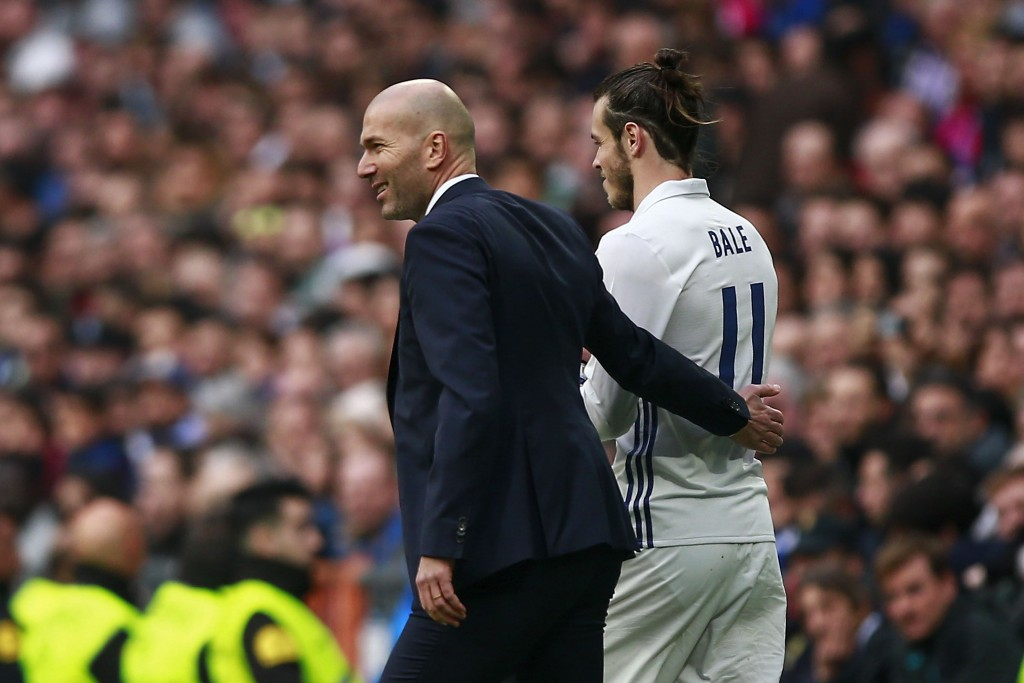 Zinedine Zidane has confirmed that Bale is on his way out of Real Madrid this summer. (Photo by Gonzalo Arroyo Moreno/Getty Images)