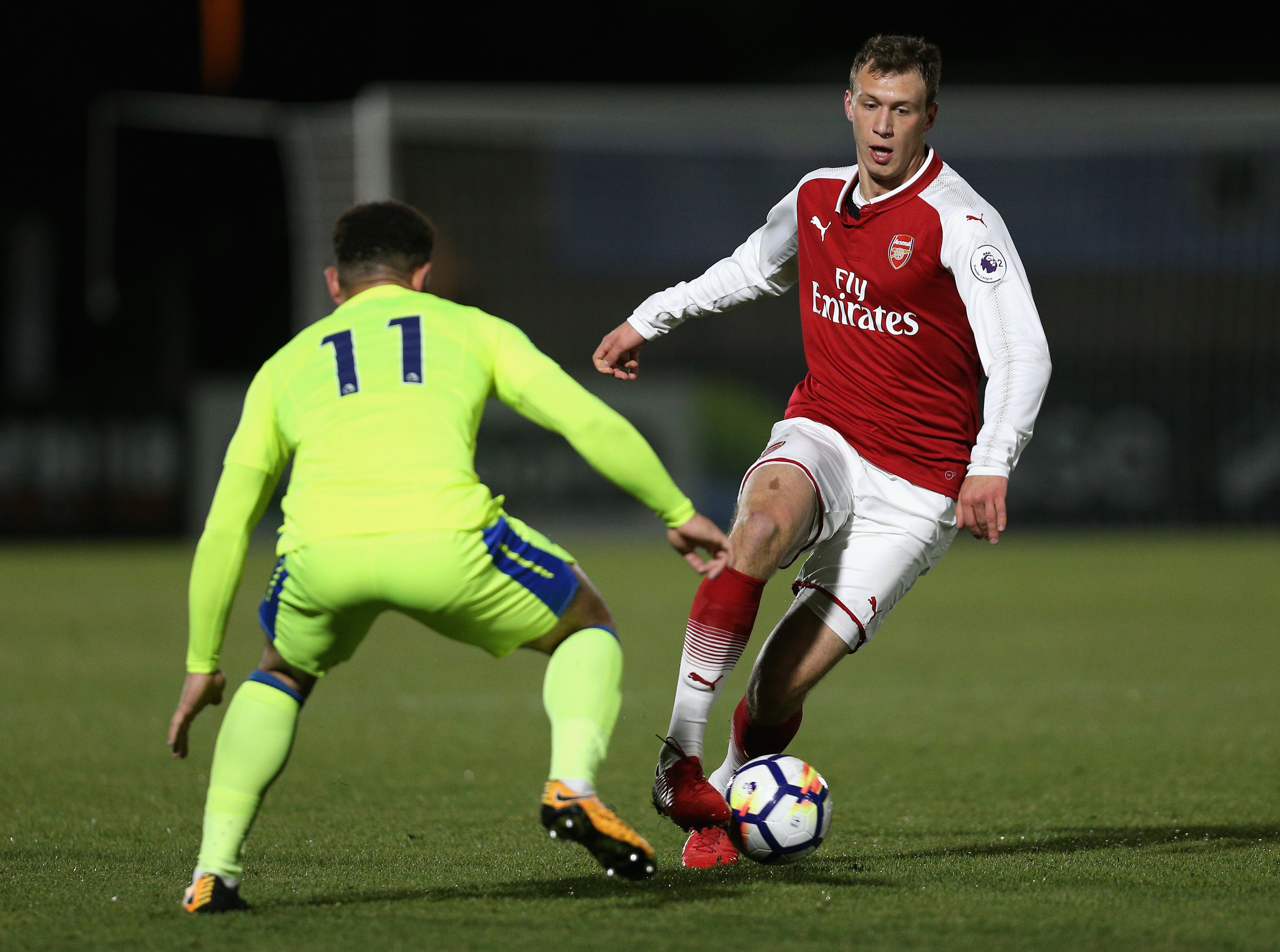 Bielik was signed by Arsene Wenger back in 2015. (Photo courtesy: AFP/Getty)