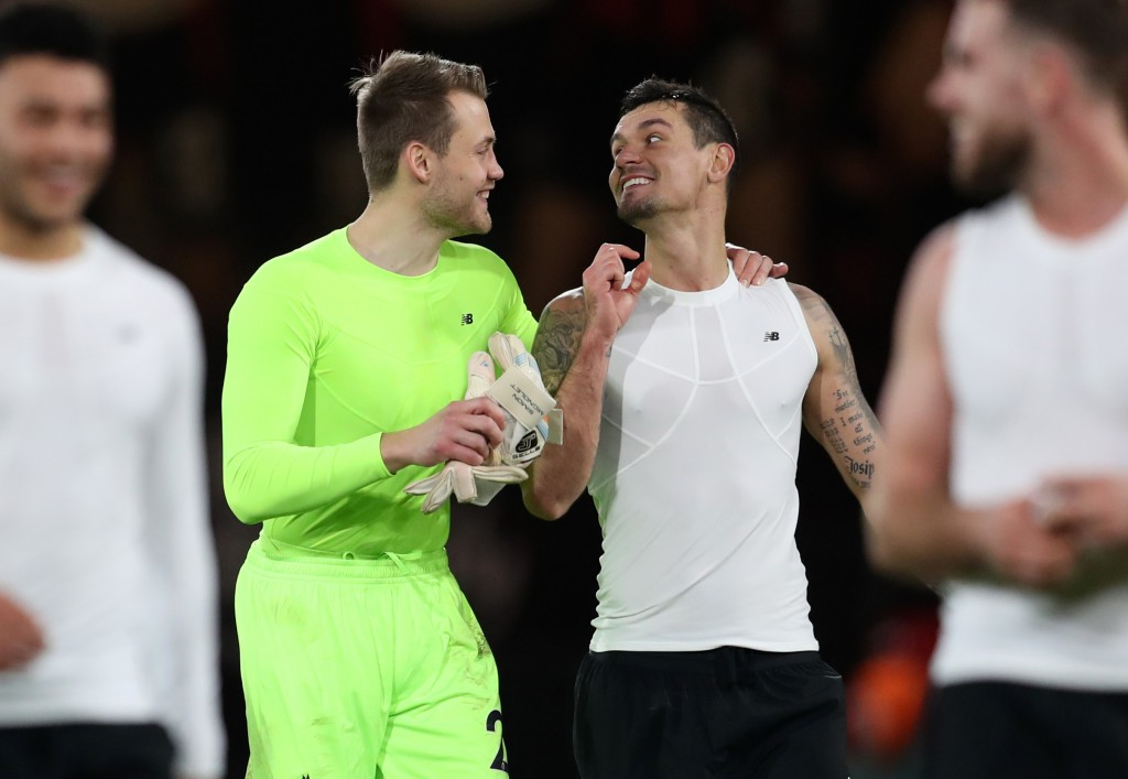 Mignolet and Lovren could potentially be leaving (Photo by Catherine Ivill/Getty Images)
