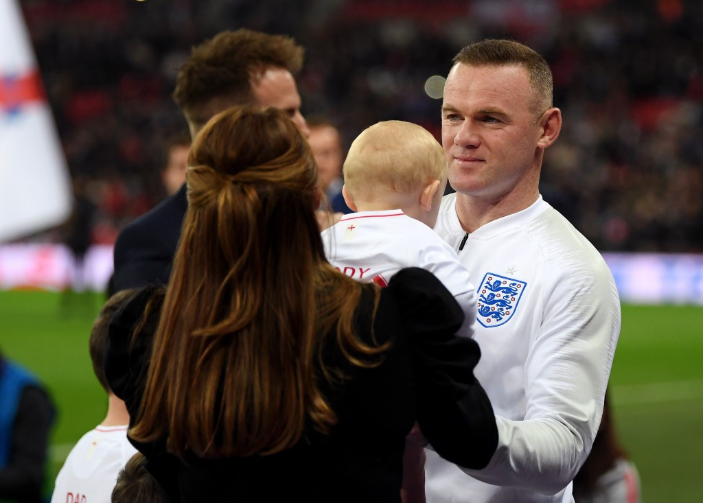 Wayne Rooney is set to choose family and with it, a return to England over MLS. (Picture Courtesy - AFP/Getty Images)