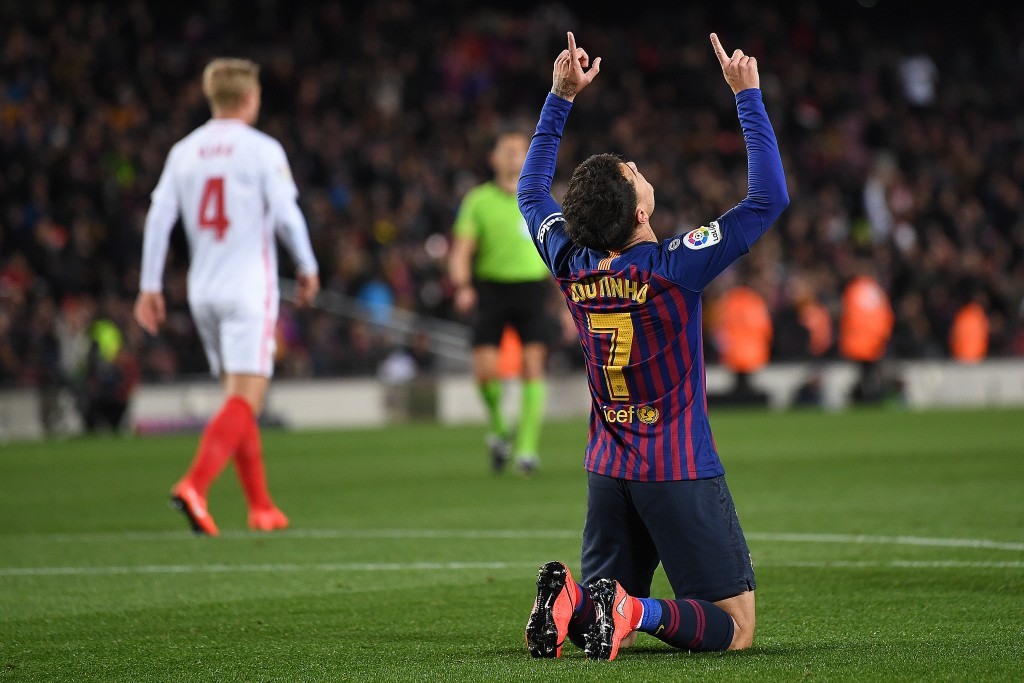 The Barcelona dream seems to be over for Coutinho. (Photo by David Ramos/Getty Images)