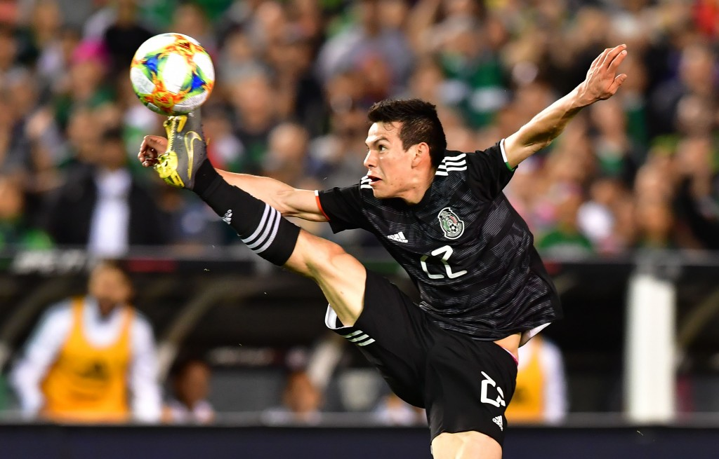 Hirving Lozano could make his debut on Saturday (Photo by FREDERIC J. BROWN/AFP/Getty Images)