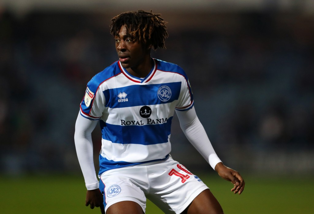 The exciting youngster Eberechi Eze has arrived from QPR. (Photo by Catherine Ivill/Getty Images)