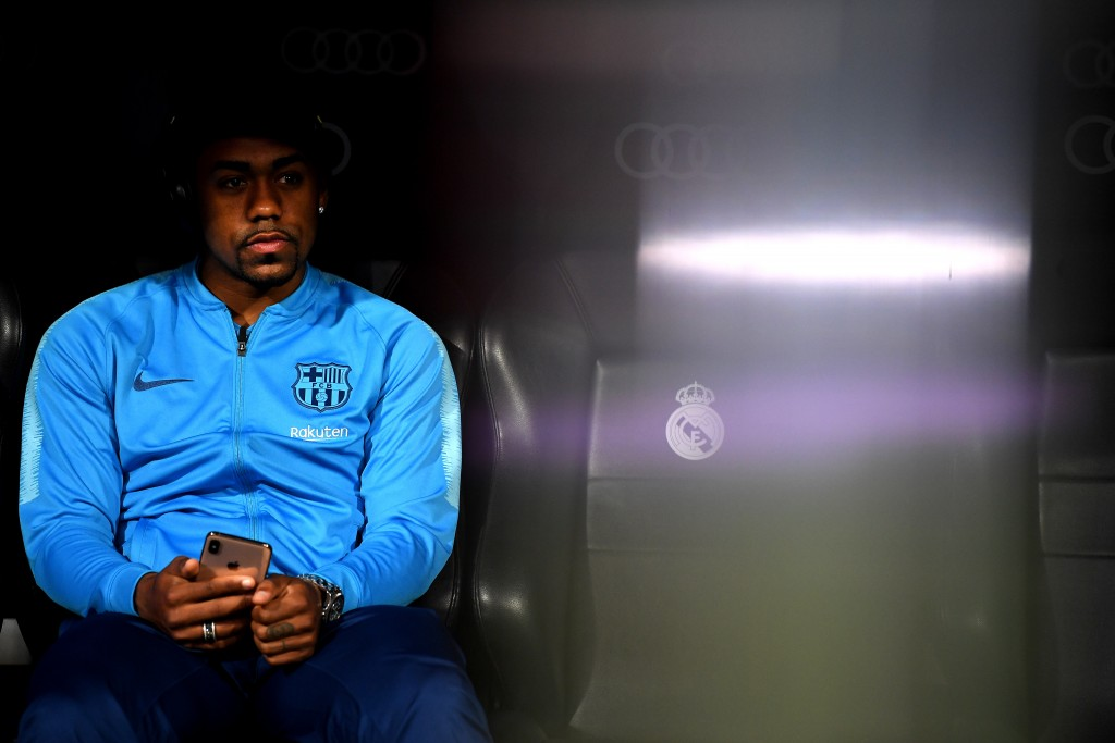 Barcelona forward Malcom joins Zenit