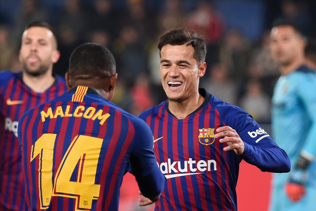 Set to follow Malcom out the exit door at Camp Nou? (Photo by Jose Jordan/AFP/Getty Images)