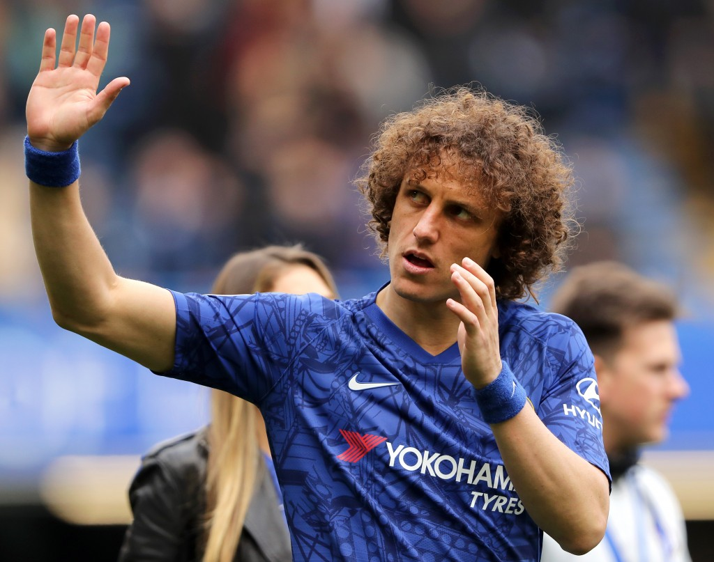 Will David Luiz commit the cardinal sin of moving to a local rival? (Picture Courtesy - AFP/Getty Images)