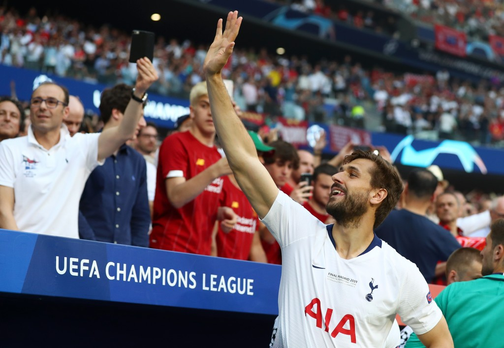 After bidding goodbye to Tottenham, will Llorente join Manchester United? (Photo by Clive Rose/Getty Images)