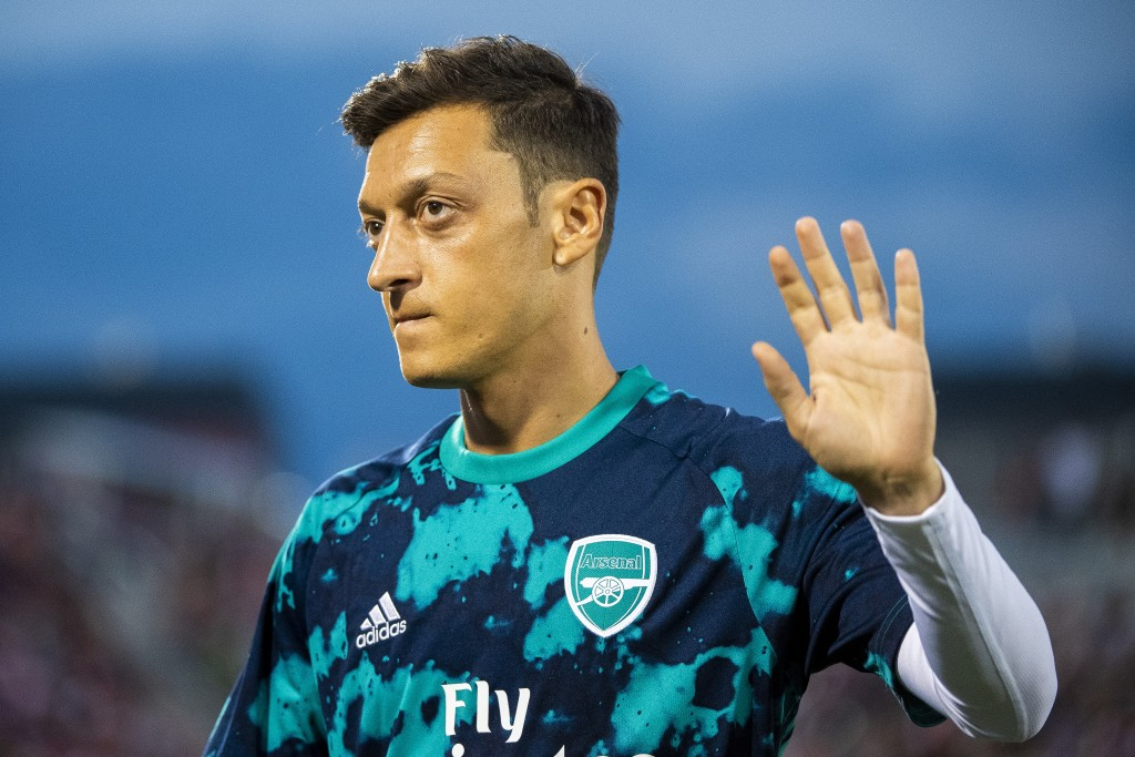 Could Ozil be bidding goodbye to Arsenal soon? (Photo by Timothy Nwachukwu/Getty Images)