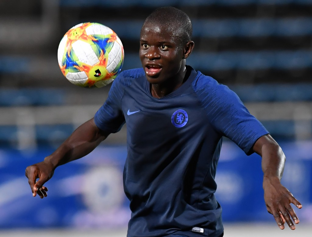 Kante happy at Chelsea amid PSG interest (Photo by TOSHIFUMI KITAMURA/AFP/Getty Images)