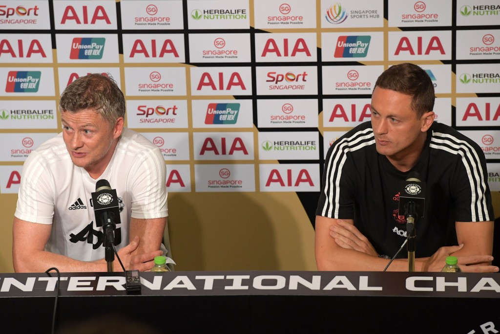Matic is Solskjaer's trusted lieutenant now. (Photo by Roslan Rahman/AFP/Getty Images)
