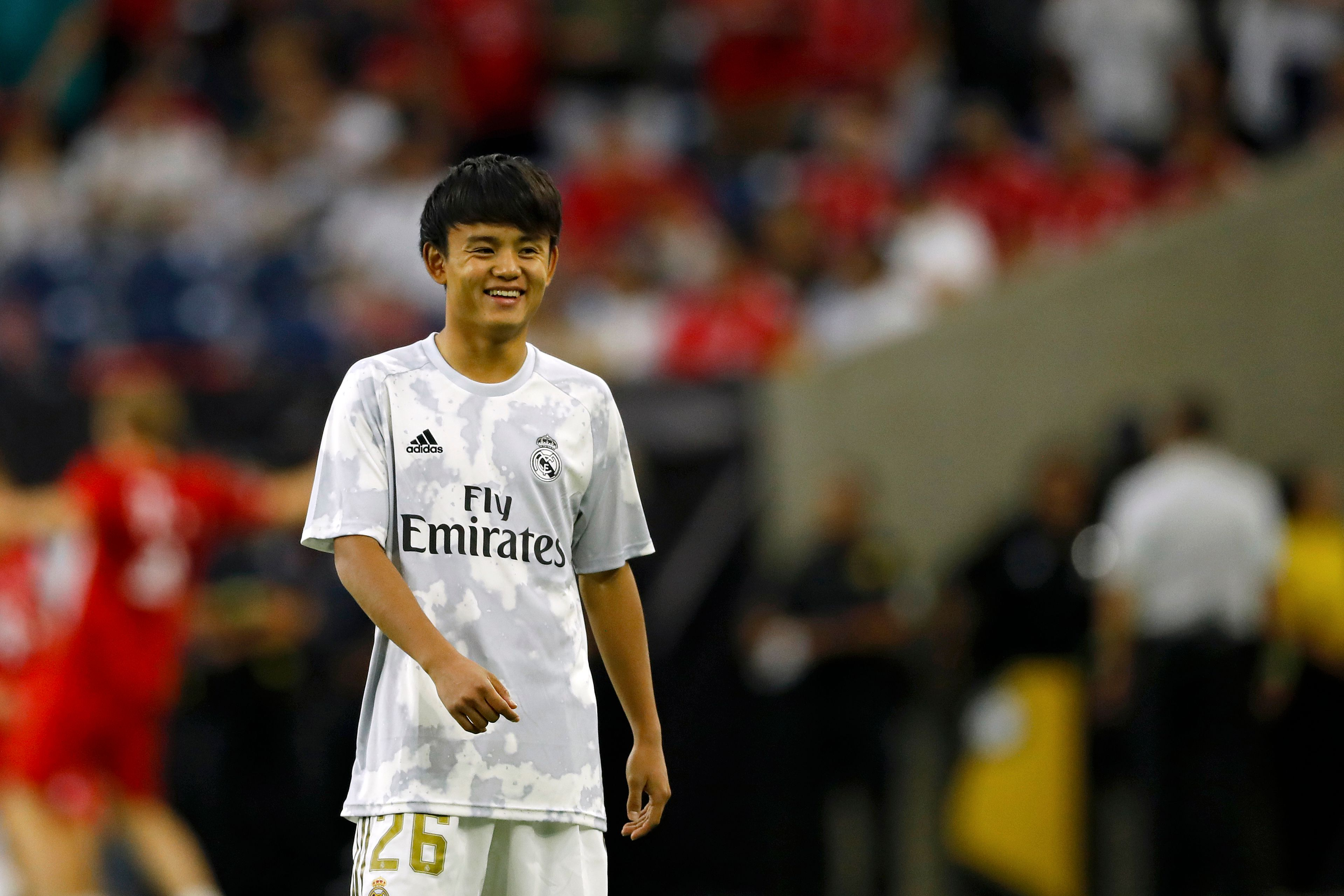 Kubo is set for another loan spell away from Real Madrid (Photo by Aaron M. Sprecher/AFP/Getty Images)