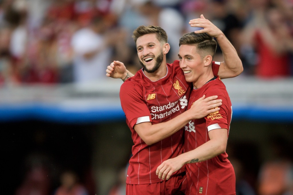 Will Wilson be on his way out of Liverpool this summer, like Adam Lallana? (Photo by Fabrice Coffrini/AFP/Getty Images)