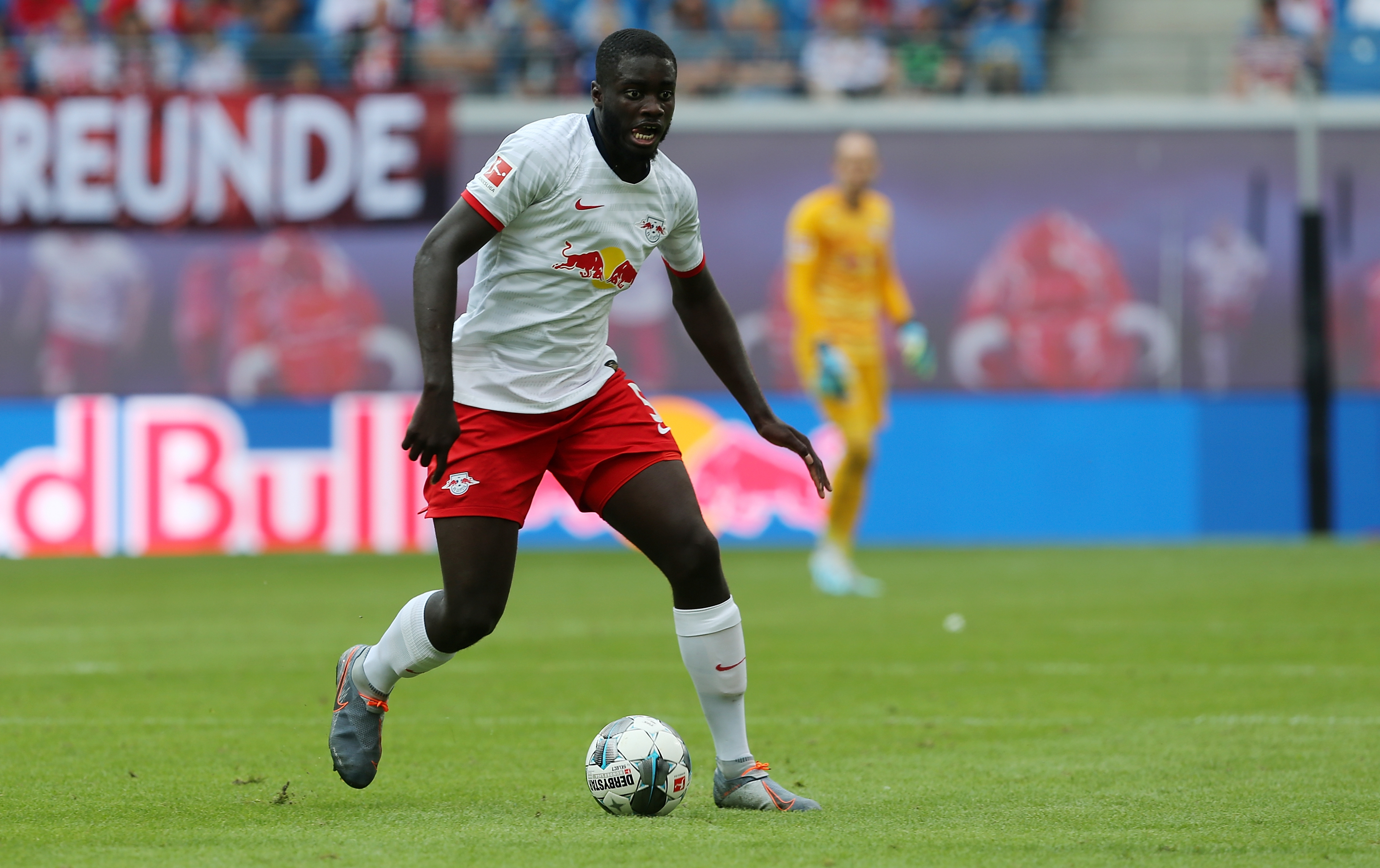 Upamecano wanted by Real Madrid and Arsenal (Picture Courtesy - AFP/Getty Images)