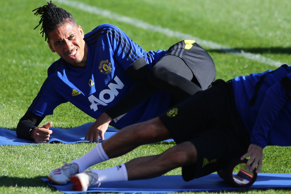 Chris Smalling set for surprise AS