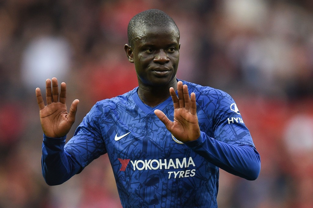 Kante ruled out (Photo by OLI SCARFF/AFP/Getty Images)