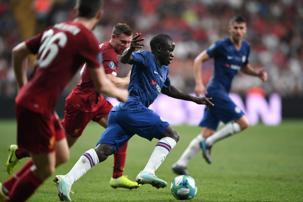 Kante starred for Chelsea (Photo by BULENT KILIC/AFP/Getty Images)