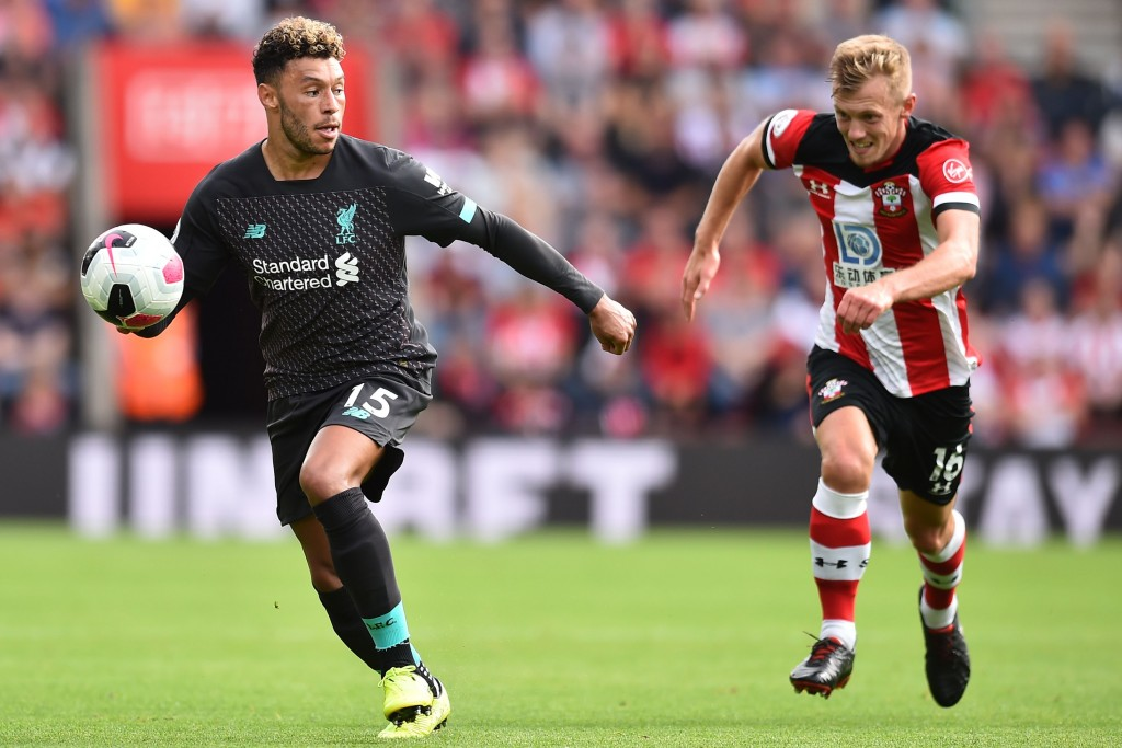James Ward-Prowse (R) will be raring to go for Southampton in the 2020/21 season. (Photo by Glyn Kirk/AFP/Getty Images)