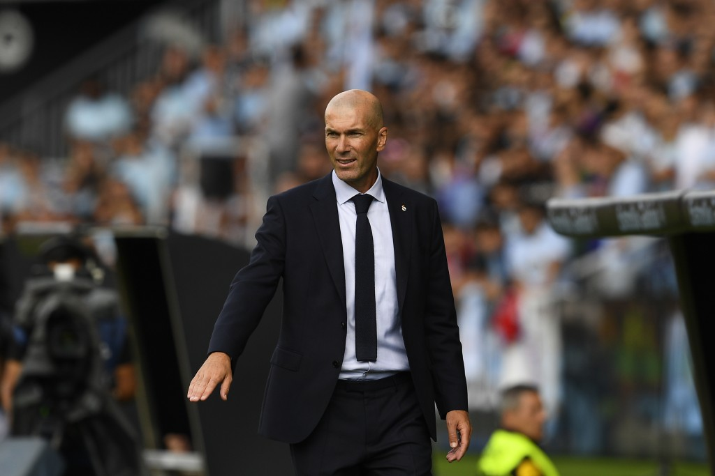 A brilliant start to the season for Zidane and his men. (Photo by Octavio Passos/Getty Images)