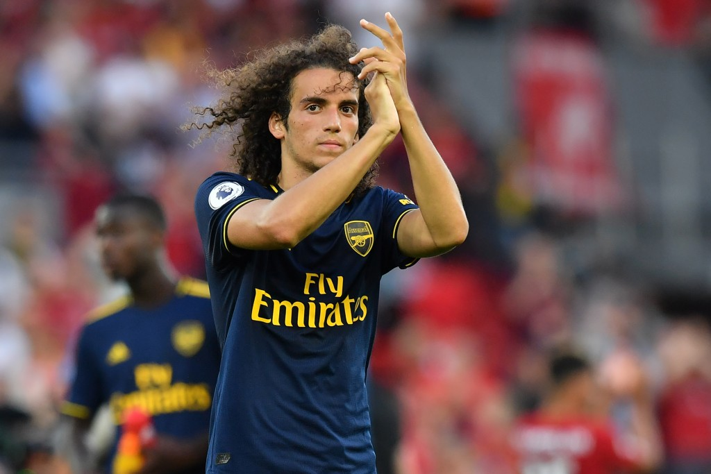 Guendouzi was one of the positives to take from Arsenal's loss. (Photo by Ben Stansall/AFP/Getty Images)