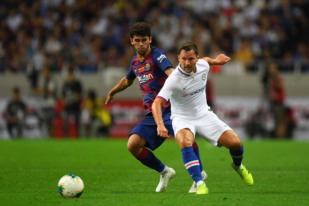 Is Drinkwater (R) finally set to end his frustrations at Chelsea? (Photo by Atsushi Tomura/Getty Images)