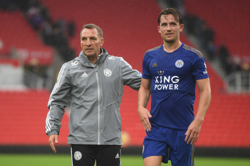 Can Brendan Rodgers retain Ben Chilwell for long? (Picture Courtesy - AFP/Getty Images)