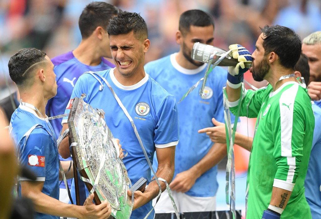 Rodri set for his PL debut (Photo by Michael Regan/Getty Images)