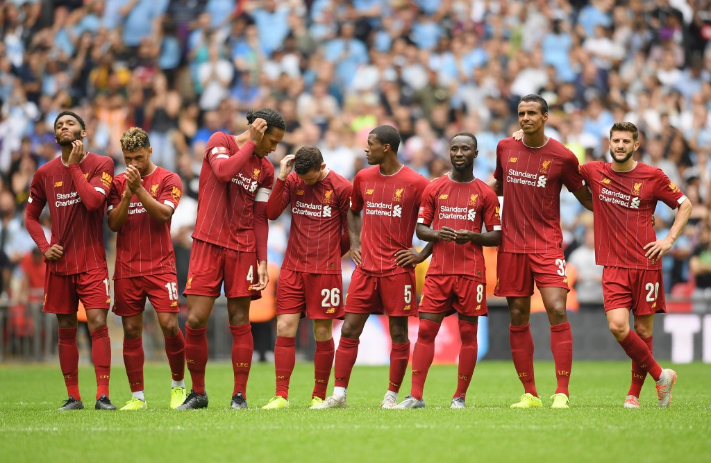 Liverpool began their season with a defeat to Manchester City in the Community Shield. (Photo by Michael Regan/Getty Images)