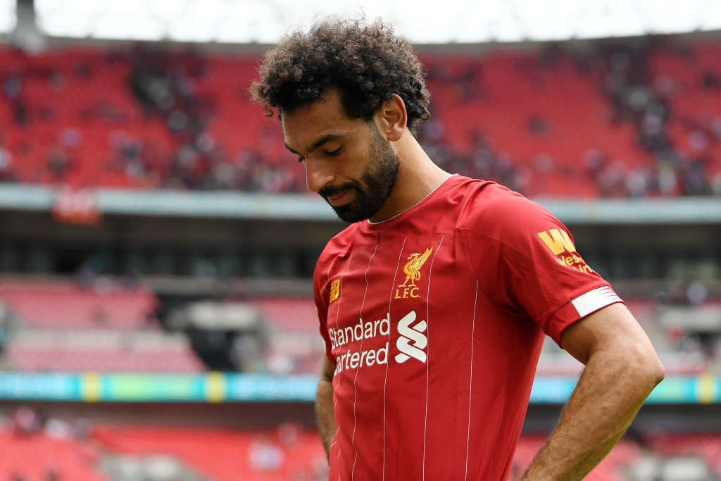 Salah can keep his head held high even in defeat. (Photo by Michael Regan/Getty Images)