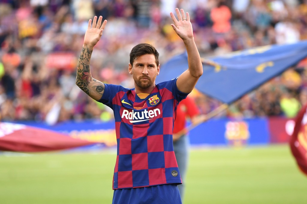 Messi is out for Barcelona's opening fixture of the season against Athletic Bilbao. (Photo by David Ramos/Getty Images)