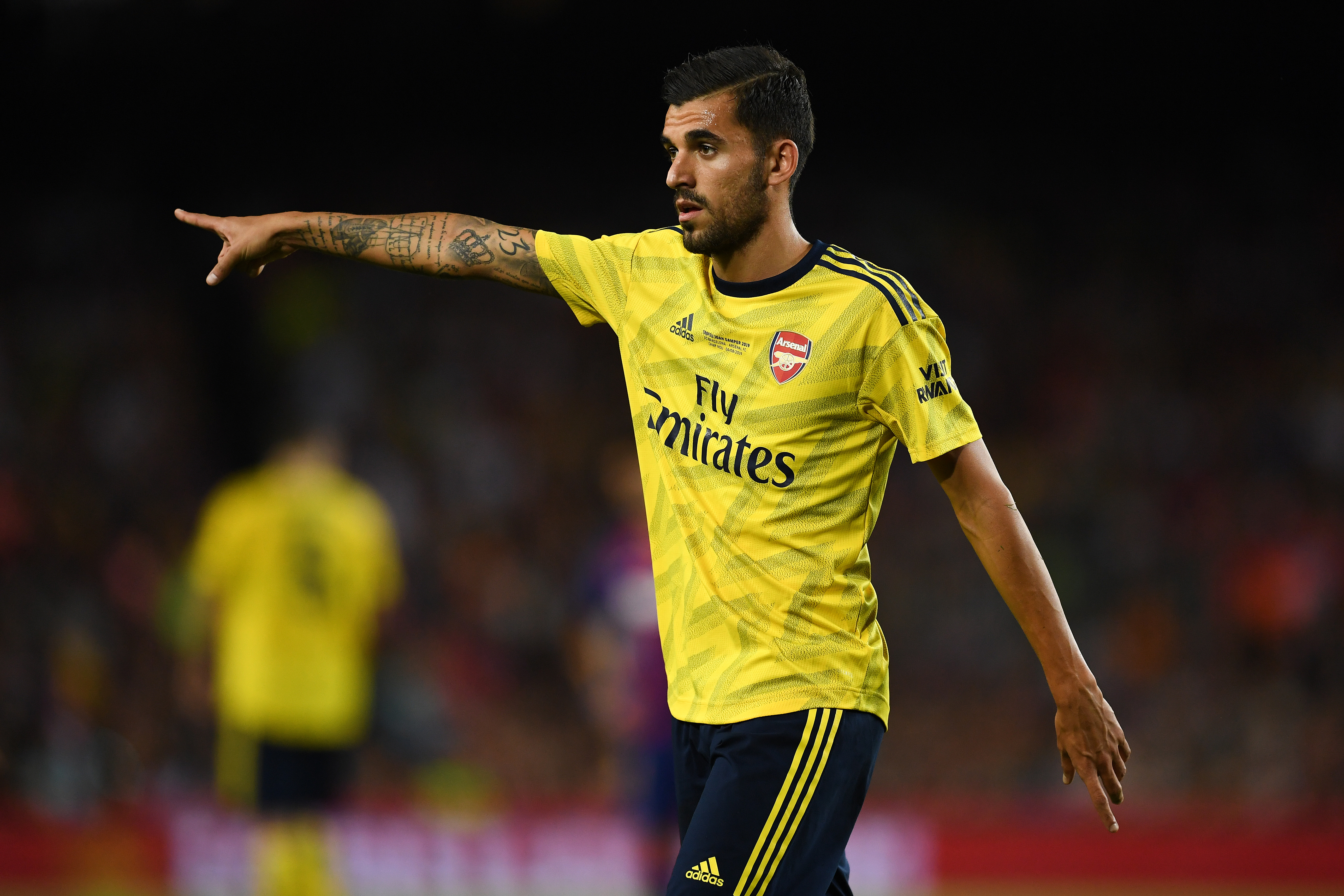 Ceballos accumulated 40 appearances for Arsenal last season. (Photo by David Ramos/Getty Images)