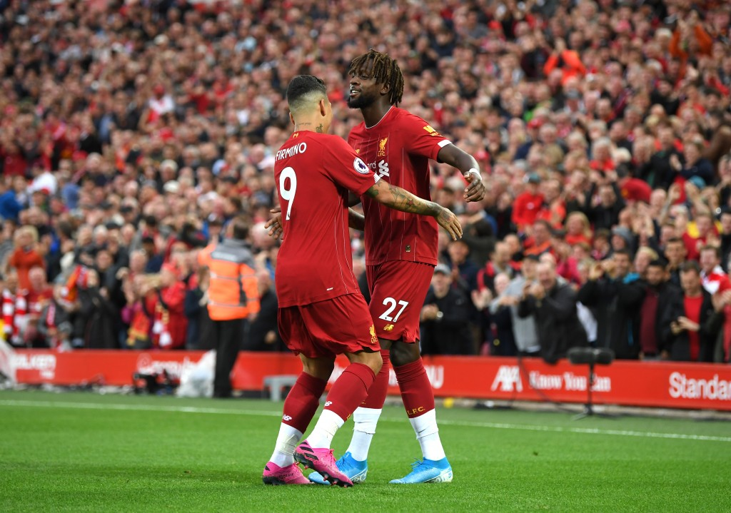 Origi and Firmino were key contributors to the win. (Photo by Michael Regan/Getty Images)