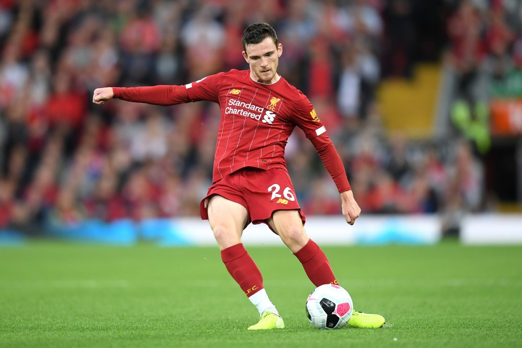 Robertson is in the shape of his life, but still requires an able deputy. (Photo by Michael Regan/Getty Images)