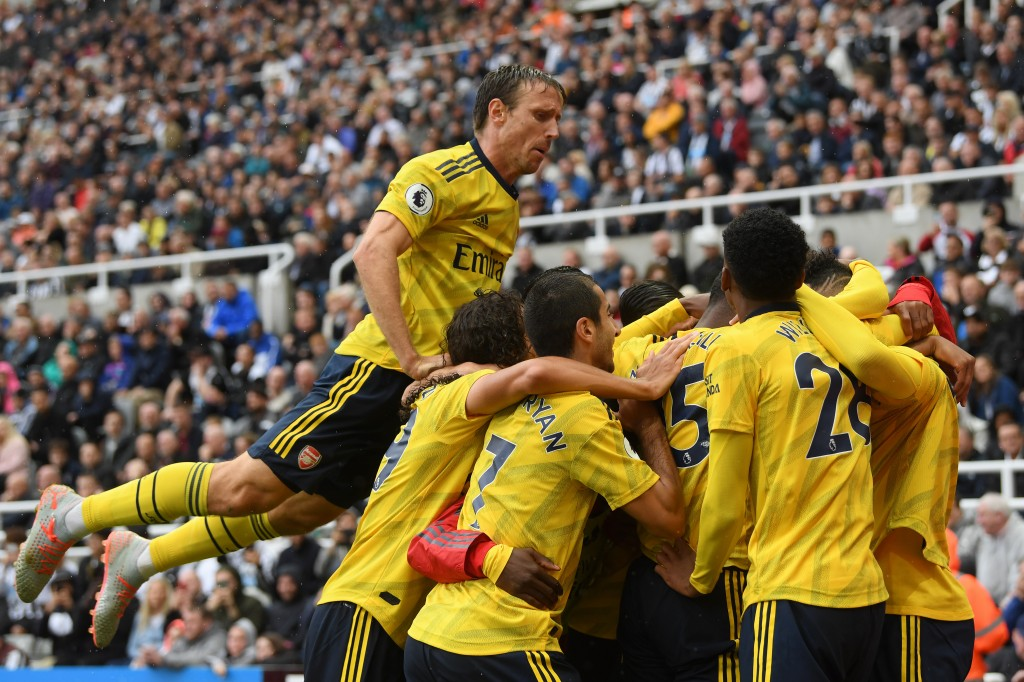 Arsenal began their campaign in solid fashion. (Photo by Stu Forster/Getty Images)