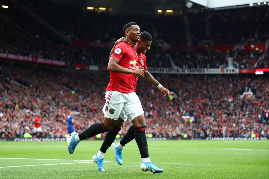 With Martial out injured, Rashford will have a lot riding on him. (Photo by Julian Finney/Getty Images)