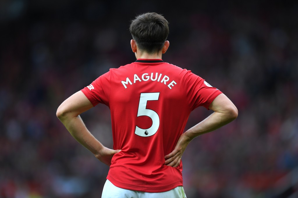 Harry Maguire misses out for Manchester United due to a calf injury. (Photo by Michael Regan/Getty Images)