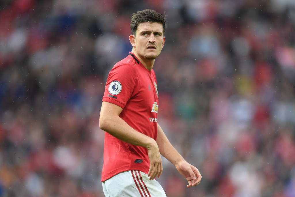 Top peformer Maguire recieved praise from former Manchester United boss Jose Mourinho. (Photo by Michael Regan/Getty Images)