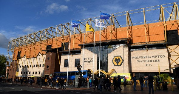 WOLVERHAMPTON, ENGLAND - AUGUST 15:  A general view of the Molineux Stadium ahead of the UEFA Europa League Third Qualifying Round Second Leg between Wolverhampton Wanderers and FC Pyunik at Molineux on August 15, 2019 in Wolverhampton, England. (Photo by Shaun Botterill/Getty Images)